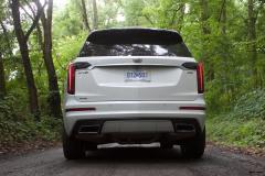 2020-Cadillac-XT6-Sport-Exterior-XT6-Drive-Forest-008-rear-end