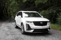 2020-Cadillac-XT6-Sport-Exterior-XT6-Drive-Forest-015-front-three-quarters