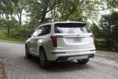 2020-Cadillac-XT6-Sport-Exterior-XT6-Drive-Forest-022-rear-three-quarters