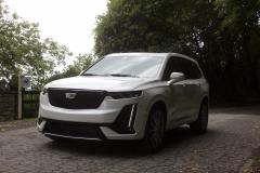 2020-Cadillac-XT6-Sport-Exterior-XT6-Drive-Forest-024-front-three-quarters