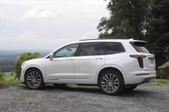 2020-Cadillac-XT6-Sport-Exterior-XT6-Drive-Winery-015-rear-three-quarters