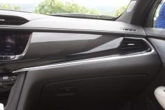 2020 Cadillac XT6 Sport Interior First Drive 005 carbon fiber dashboard insert