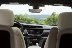 2020 Cadillac XT6 Sport Interior First Drive 011 cockpit view from third row