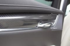 2020 Cadillac XT6 Sport Interior First Drive 018 carbon fiber door insert