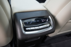 2020 Cadillac XT6 Sport - Interior - First Drive - July 2019 006 rear of center console second row