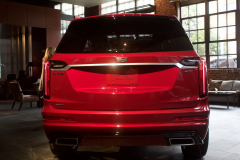 2020-Cadillac-XT6-Sport-with-Platinum-Package-Red-Horizon-Tintcoat-XT6-First-Drive-Lobby-006-Rear-End