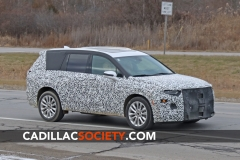 2020 Cadillac XT6 Spy Shots - Exterior - December 2018 004