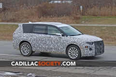 2020 Cadillac XT6 Spy Shots - Exterior - December 2018 005