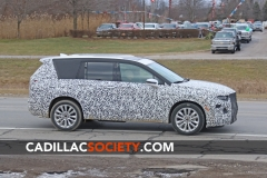 2020 Cadillac XT6 Spy Shots - Exterior - December 2018 007