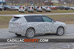 2020 Cadillac XT6 Spy Shots - Exterior - December 2018 010