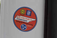 Sticker-on-2020-Cadillac-XT6-UAW-Local-1853-GM-Spring-Hill-Manufacturing-Spring-Hill-Tennessee-USA-001-XT6-Drive