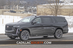 2021-Cadillac-Escalade-ESV-Sport-on-streets-Exterior-February-2020-002