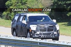 2021 Cadillac Escalade ESV Spy Shots - September 2019 - exposed grille 001
