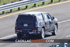 2021 Cadillac Escalade ESV Spy Shots - September 2019 - exposed grille 005