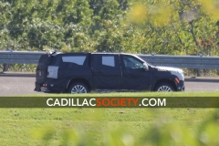 2021 Cadillac Escalade ESV Spy Shots - September 2019 - exposed grille 007