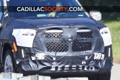 2021 Cadillac Escalade ESV Spy Shots - September 2019 - exposed grille 008