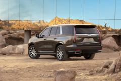 2021-Cadillac-Escalade-Premium-Luxury-Exterior-010-rear-three-quarters
