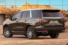 2021-Cadillac-Escalade-Premium-Luxury-Exterior-011-rear-three-quarters