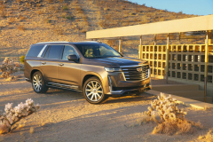 2021-Cadillac-Escalade-Premium-Luxury-Exterior-019-front-three-quarters