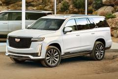 2021-Cadillac-Escalade-Sport-Exterior-001-front-three-quarters