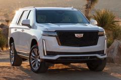 2021-Cadillac-Escalade-Sport-Exterior-005-front-three-quarters