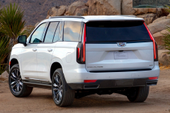 2021-Cadillac-Escalade-Sport-Exterior-009-rear-three-quarters
