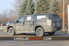 2021 Cadillac Escalade Spy Shots - Exterior 011