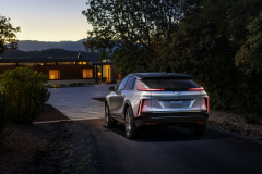 2023-Cadillac-Lyriq-Exterior-004-Rear-Three-Quarters