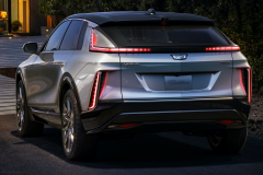 2023-Cadillac-Lyriq-Exterior-006-Rear-Three-Quarters