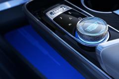 2023-Cadillac-Lyriq-Interior-010-cockpit-rotary-infotainment-controller-with-Cadillac-logo
