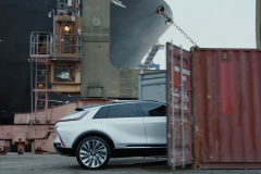 Cadillac-Lyriq-Show-Car-BEV3-Everybody-In-No-Way-Norway-Commercial-Will-Ferrell-2021-Super-Bowl-LV-007-side-profile-shipping-container