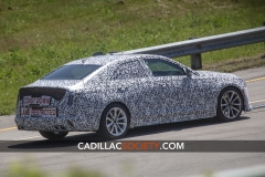 Cadillac CT4-V Blackwing Spy Shots - June 2019 004