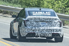 Cadillac-CT5-V-Blackwing-Prototype-Magnesium-Wheels-June-2020-013-rear-end