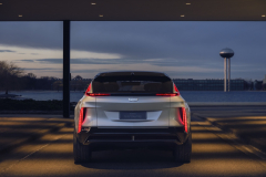 2023-Cadillac-Lyriq-Show-Car-Exterior-009-rear-end-tail-lights