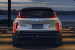 2023-Cadillac-Lyriq-Show-Car-Exterior-010-rear-end-tail-lights