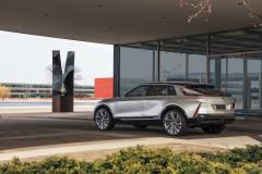 2023-Cadillac-Lyriq-Show-Car-Exterior-036-rear-three-quarters