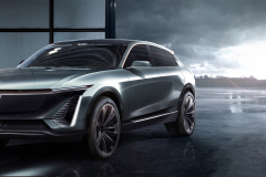 Cadillac-EV-Concept-SUV-2019-North-American-Intenational-Auto-Show-Presentation-Cadillac-Lyriq-003-front-three-quarters