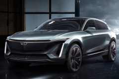 Cadillac-EV-Concept-SUV-2019-North-American-Intenational-Auto-Show-Presentation-Cadillac-Lyriq-004-front-three-quarters