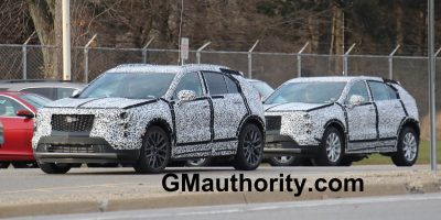 2019 Cadillac XT4 Prototype Shows Off More Than Ever Before