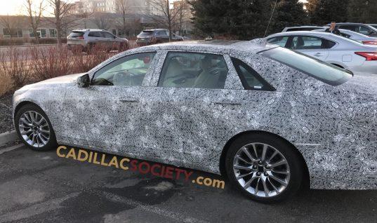 2019 Cadillac CT6 Prototype Spied Testing In Colorado