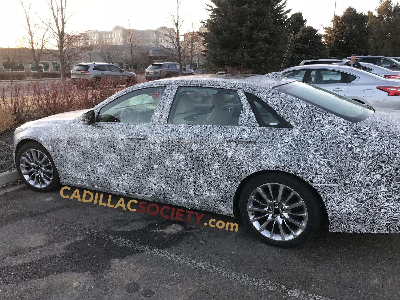 2019 Cadillac CT6 Refresh Spied Testing In Colorado