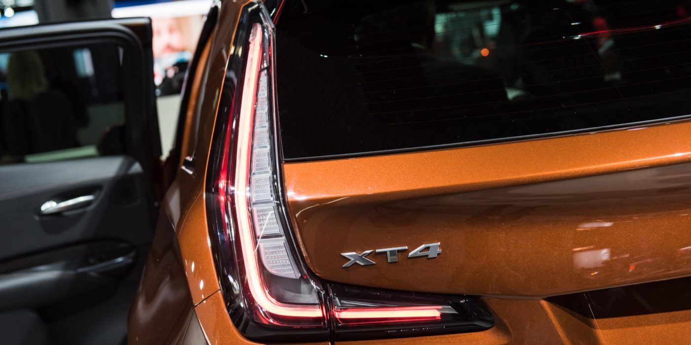 Potential Cadillac XT4-V Leaked Via New Images