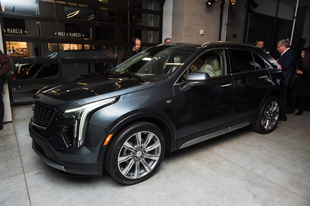 First Ever 2019 Cadillac Xt4 Unveiled In Manhattan