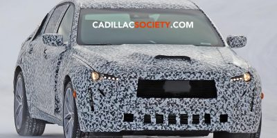 2020 Cadillac CT5 Spied Testing