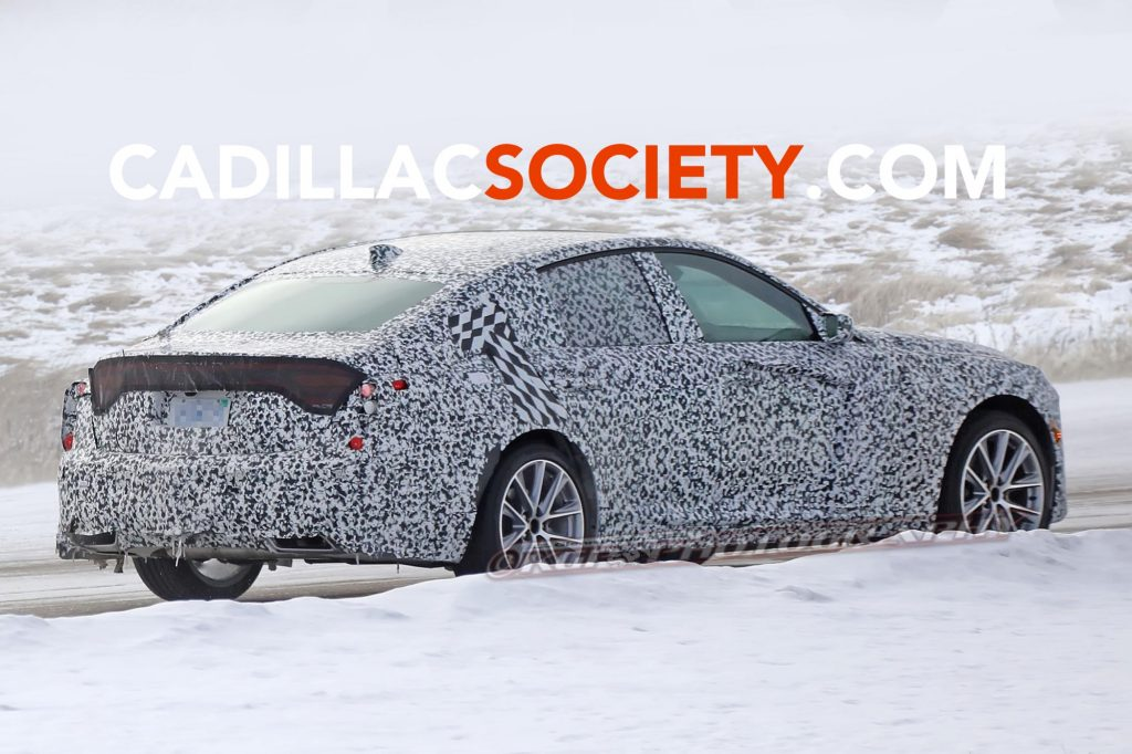 2020 Cadillac Ct5 Prototype Spied Undergoing Testing