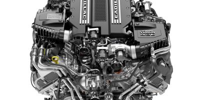 Cadillac Announces New 4.2L Twin-Turbo V-8 DOHC Engine
