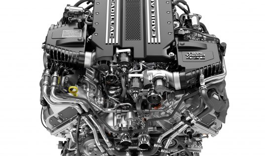 Cadillac Announces New 4.2L Twin-Turbo V-8 DOHC Engine