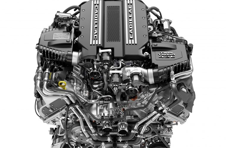 2019 Cadillac 4.2L Twin-Turbo V8 LTA Engine Pictures