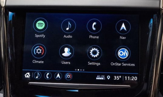 Spotify Comes To Cadillac Infotainment Systems As Standalone App