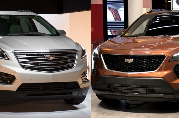 Cadillac XT4 vs. Cadillac XT5 Dimensional Comparison